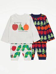 Набор плотных пижам George 12-18мес, 1,5-2 года, 2-3 года