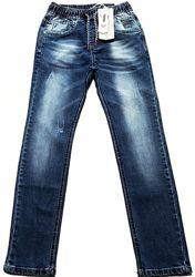 Джинсы для мальчика на резинке, рост 134-164, Taurus Венгрия