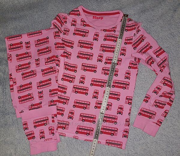 Пижама на рост 134-140см в отл. состоянии