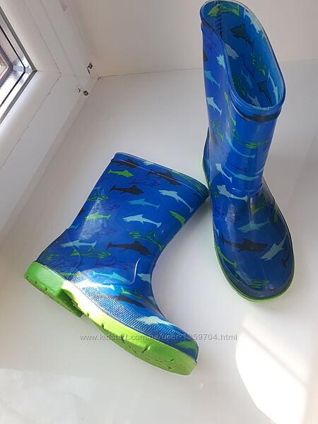 Непромокаемые детские сапожки на непогоду&92силиконовые сапоги&92Hatley Канада