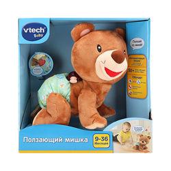 Развивающая игрушка VTech - Ползающий Мишка со звуковыми эффектами.