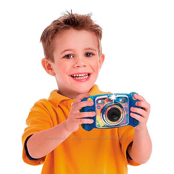 Детская Цифровая Фотокамера VTech Kidizoom Duo Blue.