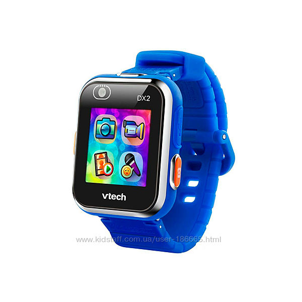 Детские Смарт-Часы VTech Kidizoom Smart Watch Dx2 Blue.