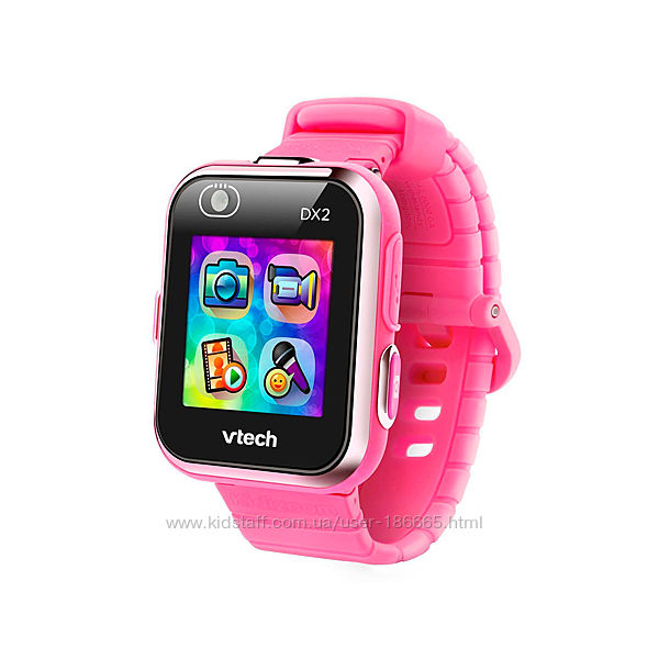 Детские Смарт-Часы VTech Kidizoom Smart Watch Dx2 Pink
