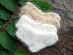 Очень теплые детские носки из натуральной собачьей шерсти