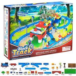 Конструктор Железная дорога Block Treck, 246 дет. 599-7А