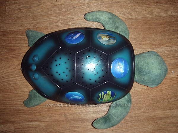 Ночник - проектор звездное небо, черепашка, США
