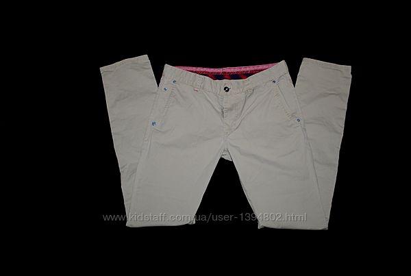Брюки штаны джинсы мужские бренд Pierre Cardin оригинал Бежевые S M