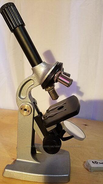 Микроскоп школьный Юннат-2П-3 80-800 крат