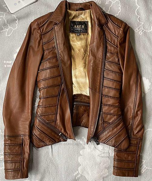 кожаная куртка ARES р. xs