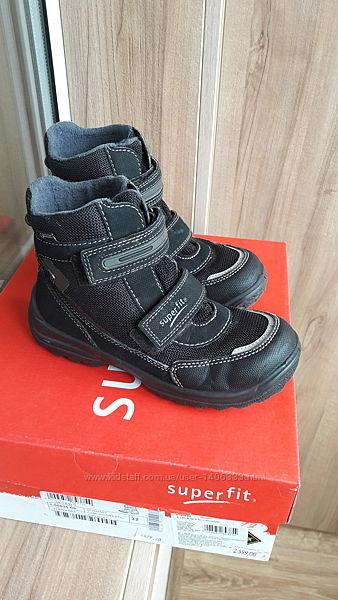 Зимние ботинки на мальчика Superfit р.32. Длина стельки 21см.