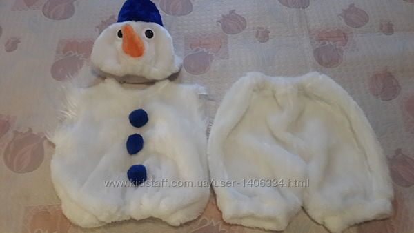 Прокат карнавальных костюмов снеговик, эльф, Анна, мышка, заяц и др.