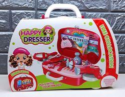 Набор детский набор чемодачик HAPPY DRESSER