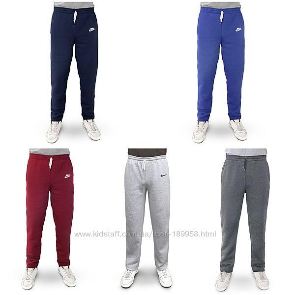 Теплые мужские спортивные штаны. Прямой покрой. Цвета. 44-58р