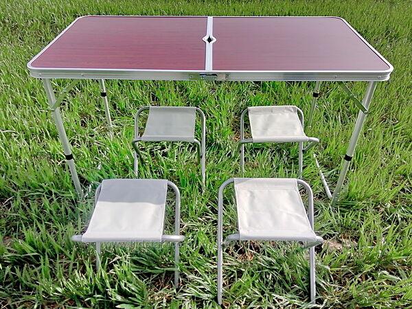 Стол для пикника4 стулаЗонт