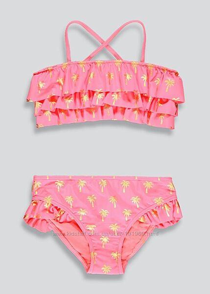 Купальник розовый 6-7 лет бренд Маталан Англия