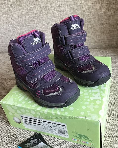 Зимние термо ботинки Trespass р.27