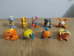 Киндер игрушки Животные-перевертыши 2014,2015