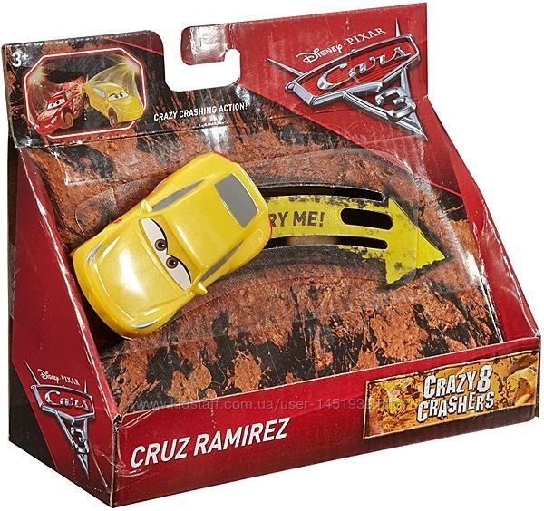 Оригинал машинка Тачки 3 Disney Сумашедший дрифт Круз Рамирес Cars Crashers