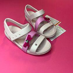 Детские сандалии кроксы Crocs Lina, босоножки Крокс размеры 24-31 Оригинал.