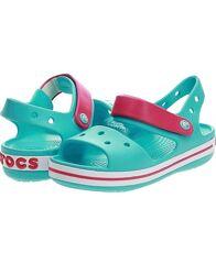 Детские босоножки Crocs Crocband Bayaband кроксы сандалии р. 20-35 оригинал