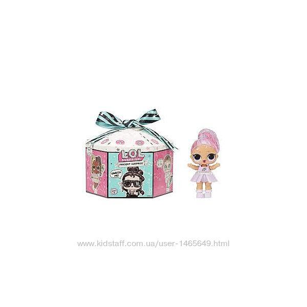 Кукла ЛОЛ сюрприз зодиак L. O. L. Surprise Present Surprise Series 2 Glitter