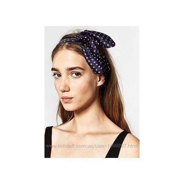 Zara шарф -бандана с узором