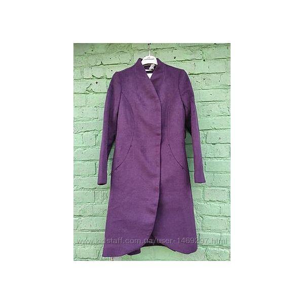 Шерстяное пальто классического кроя от vero moda