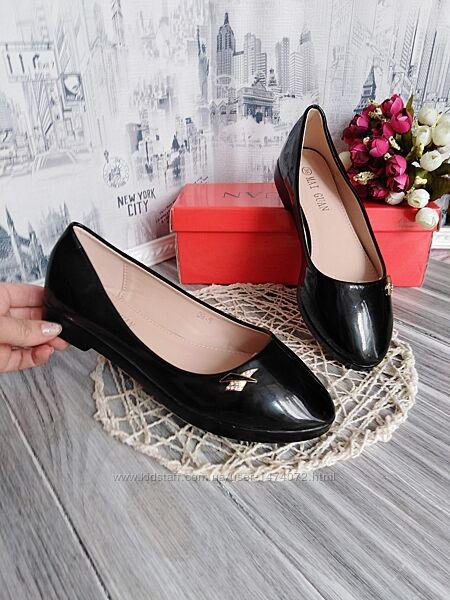 Изящные женские туфли балетки