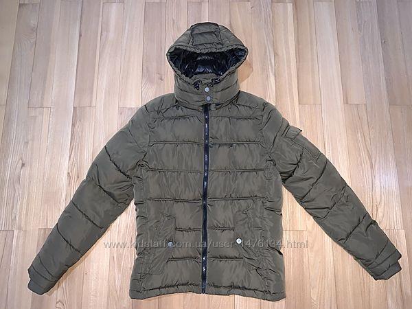 Куртка парка тепла зимова bershka розмір 36 s-m ріст 170