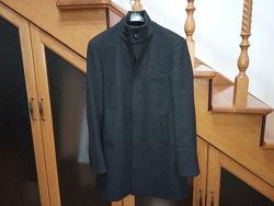 Пів пальто чоловіче нарядне h&m розмір 46 м-s шерсть