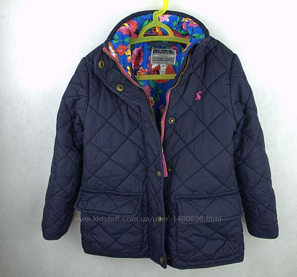 Куртка деми стеганная Joules на 4 5 лет 104 110 см весна осень