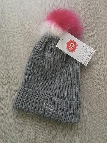 Разные красивые  теплые шапки девочке cool club.