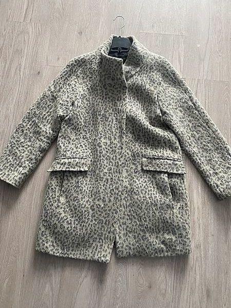 Пальто Zara леопард