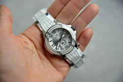 Женские часы с бриллиантами 22 шт. Швейцарские. Для стильной девушки