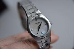 БРИЛЛИАНТЫ часы TISSOT Швейцарские женские часы с бриллиантами