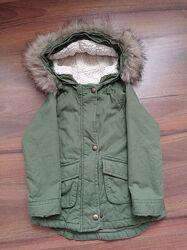 Парка куртка демисезонная old navy 98 см