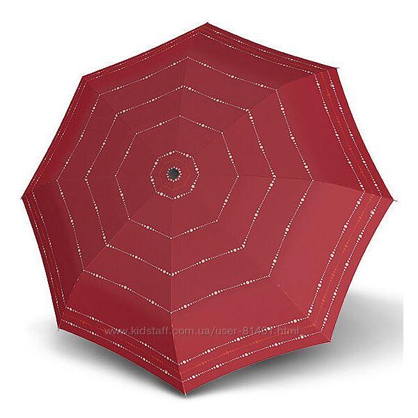 Крепкий небольшой зонт полуавтомат Doppler Австрия