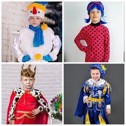 Карнавальные  костюмы  мальчикам и девочкам. Большой выбор