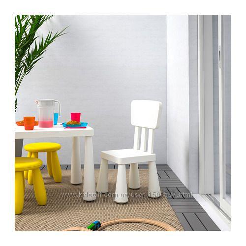 Стіл, столик дитячий, стол дeтский Mammut, Маммут Икeа IKE