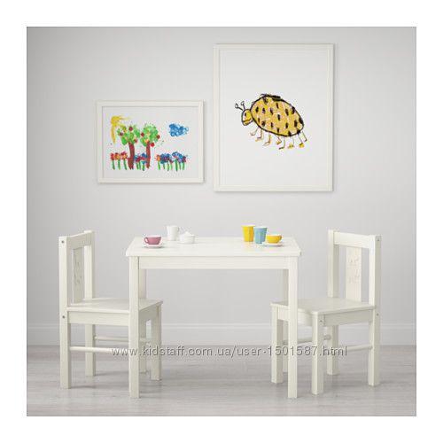 Стіл KRITTER IKEA, стул икеа