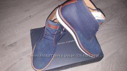 Стильные кожаные ботинки Tommy Hilfiger 4127. 5см. Оригинал