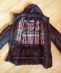 Куртка зимняя мужская black vinyl. пуховик. зимова куртка. курточка