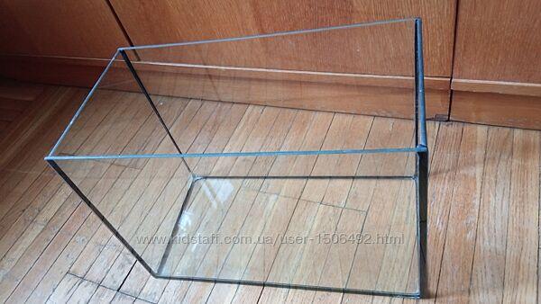 Акваріум скляний б/в  150 грн.