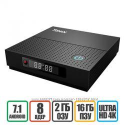 TANIX TX92 3-32Gb - Приставка TV Box. Гарантия, Доставка Бесплатно