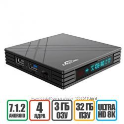 EACHLINK H6 MINI 3-32GB - Смарт Приставка, Гарантия - 12 мес, Доставка