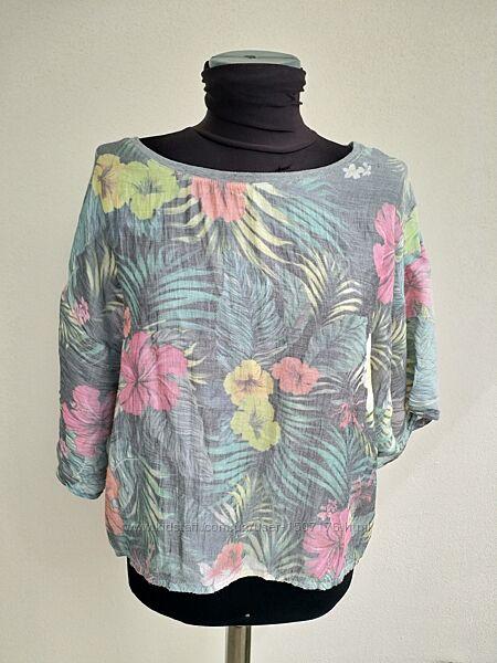 Укороченная футболка, блузка Zara