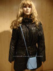 Летняя цена/Куртка стёганная чёрная Esprit.