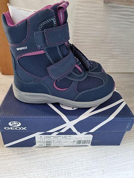 Зимние ботинки сапоги Geox New Alaska 31 р