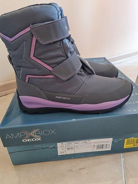 Зимние ботинки сапоги Geox Orizont p. 38